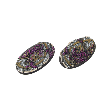 Dark Temple Bases, Oval 90mm (2)