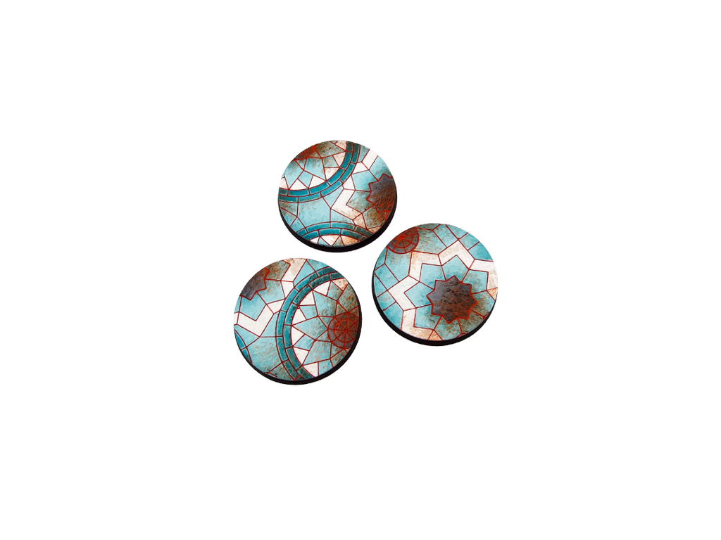 Mosaic Bases, Round 50mm (2)