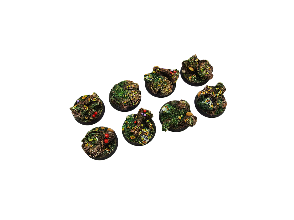 Forest Bases, Round 32mm (4)