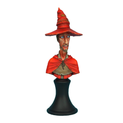 Discworld Rincewind Bust UNPAINTED (1)