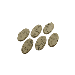 Ruins Bases, Oval 60mm (4)