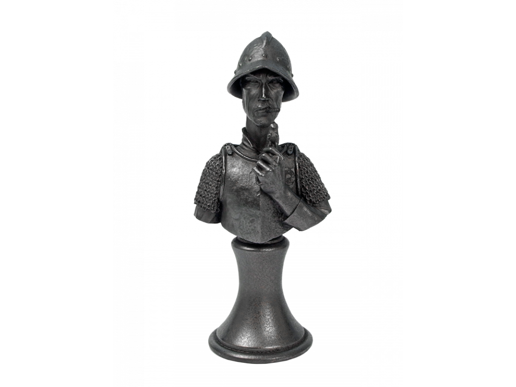 Discworld Vimes Bust METALLIZED (1)