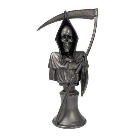 Discworld Death Bust METALLIZED (1)