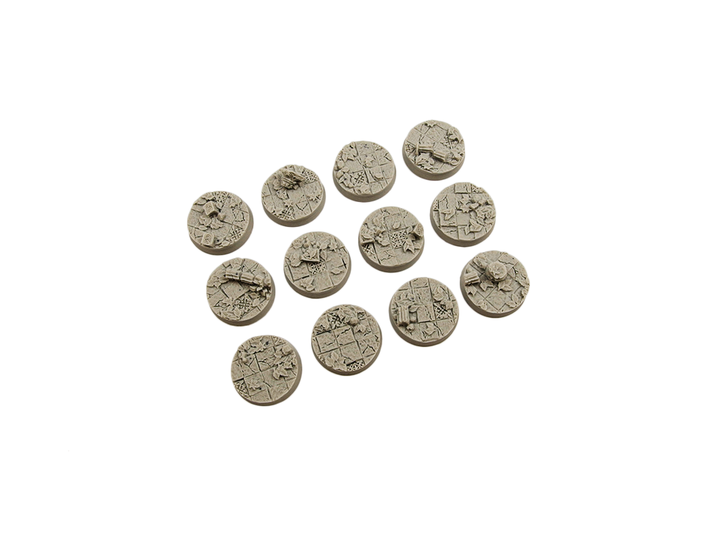 Ancient Bases, Round 25mm (5)