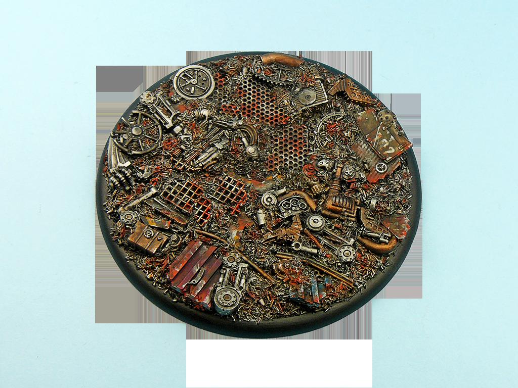 Trash Bases, WRound 120mm (1)