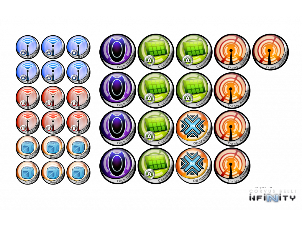 Infinity Token Set ITS2015 (35)