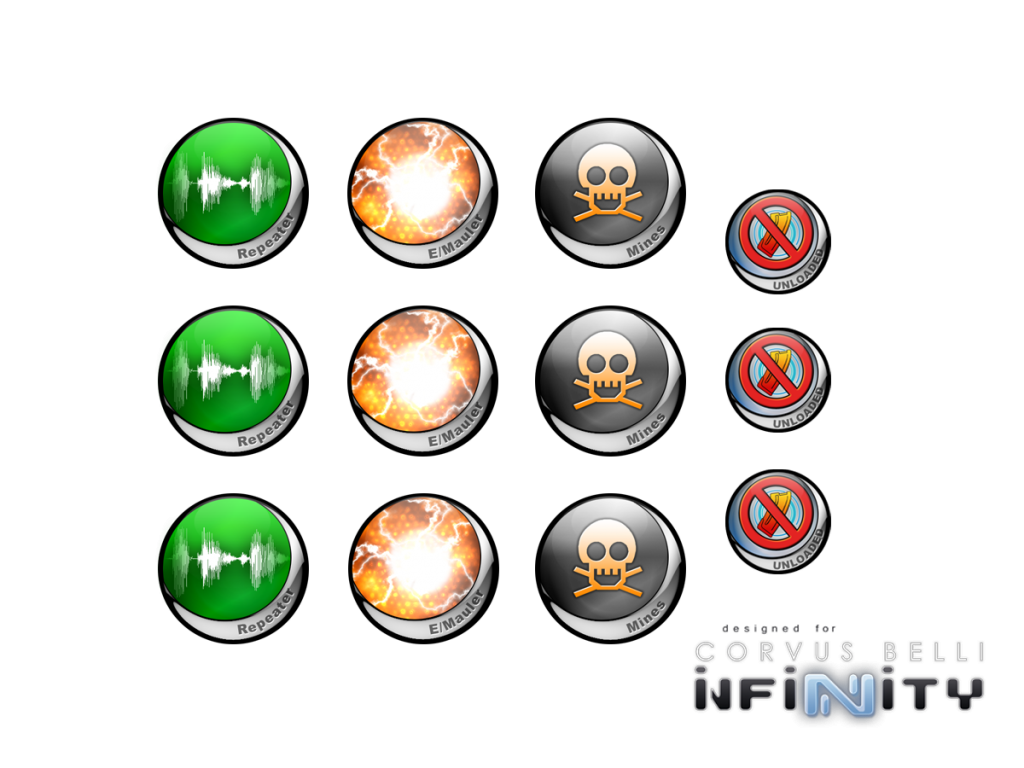 Infinity Tokens Deployables ver. 1 (12)