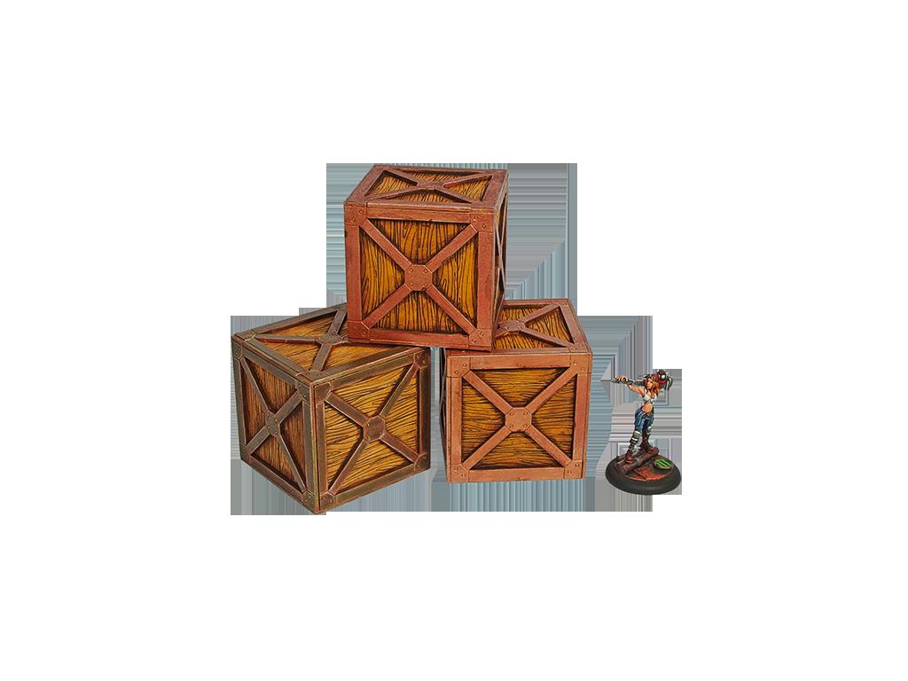 XIX Century Crates