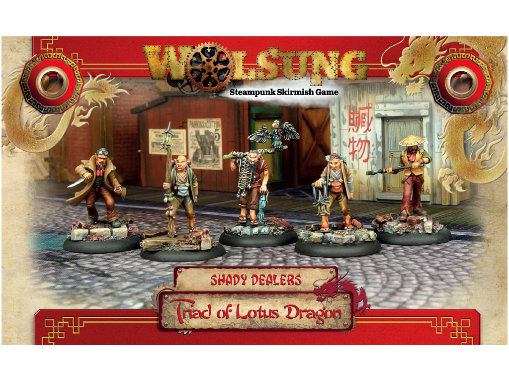 """Triad of Lotus Dragon Henchmen Box 1: """"Shady Dealers"""""""