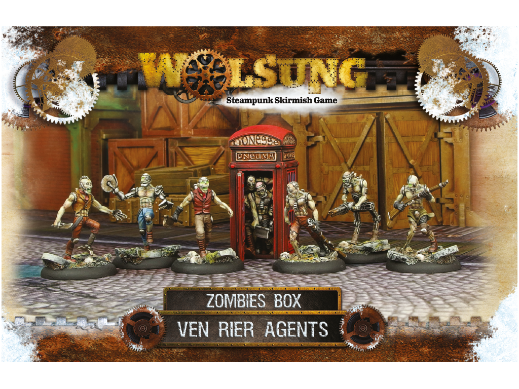 "Ven Rier Agents Henchmen Box 1: ""Zombies Box"""