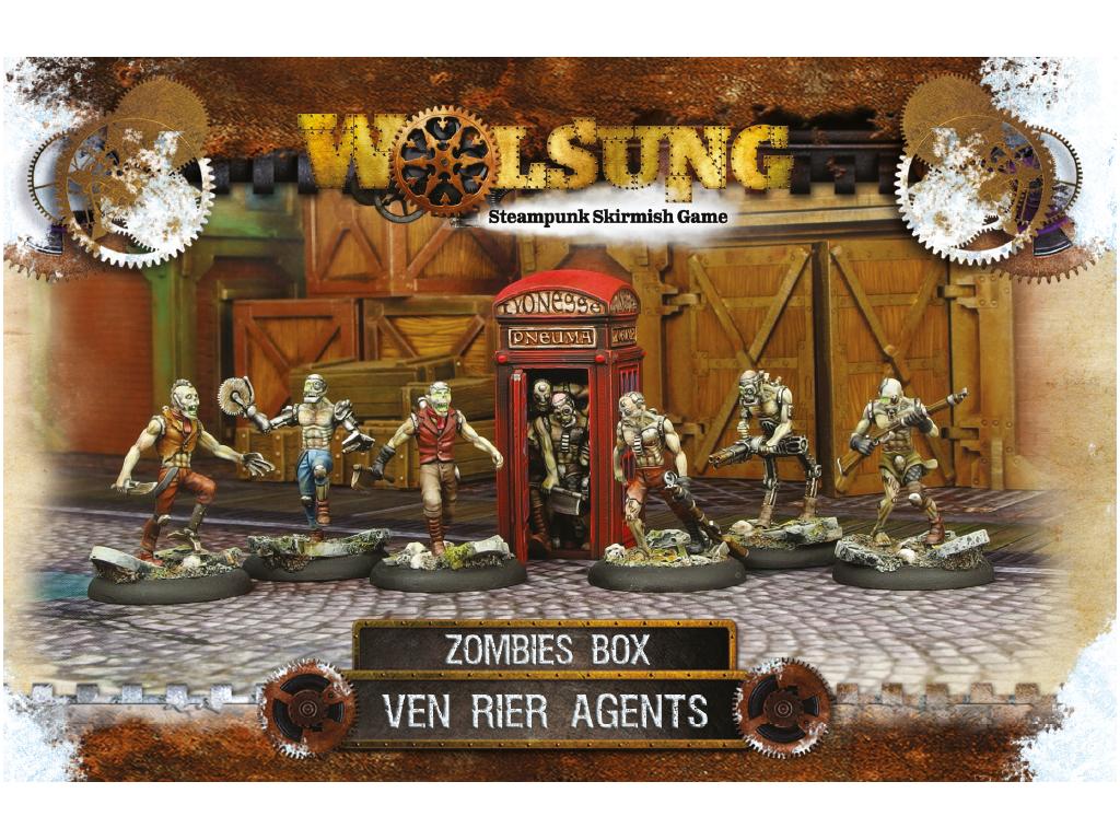 "Ven Rier Agents Henchmen Box 1: ""Zombies Box"""