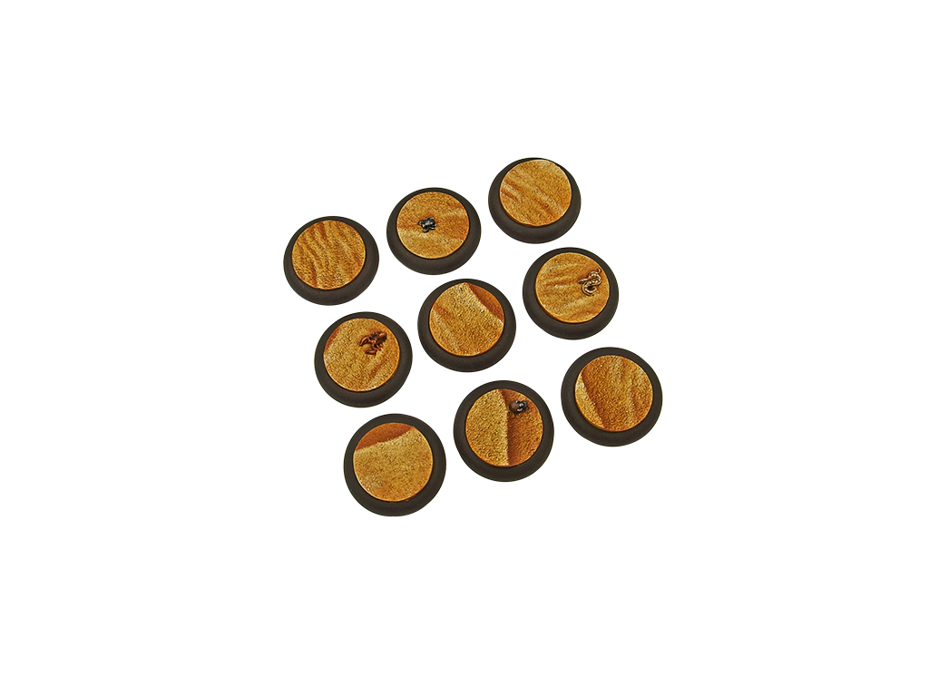 Desert Bases, WRound 30mm (5)