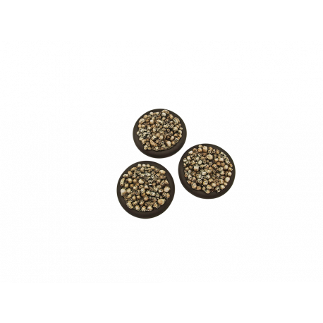 Skulls Bases, WRound 50mm (1)