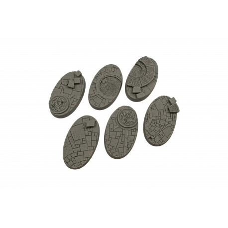Arcane Bases, Oval 60mm (4)