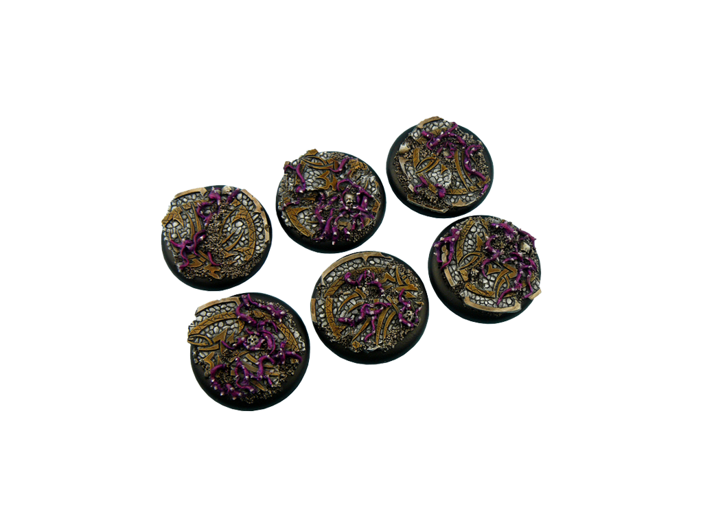 Dark Temple Bases, WRound 40mm (2)