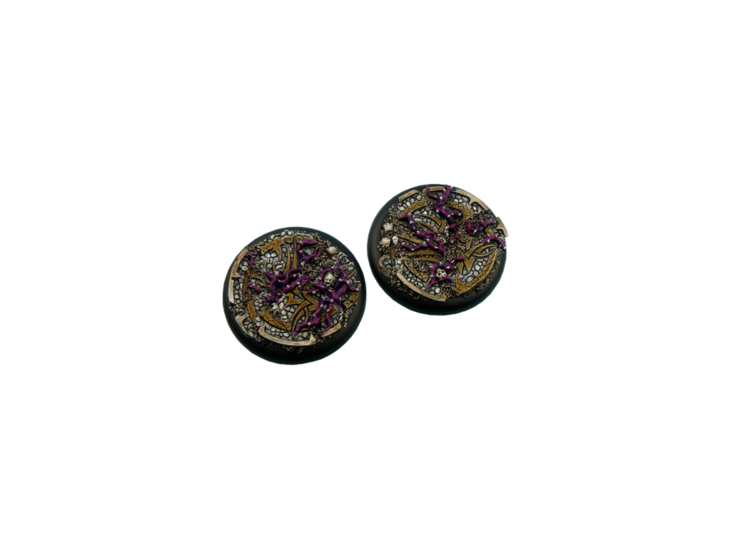 Dark Temple Bases, WRound 50mm (1)