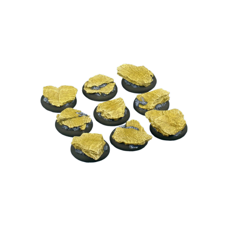Shale Bases, WRound 30mm (5)