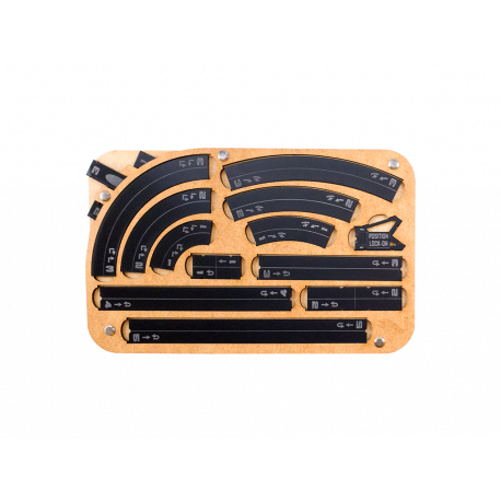 Space Fighter Manouver Tray 2.0 - Black