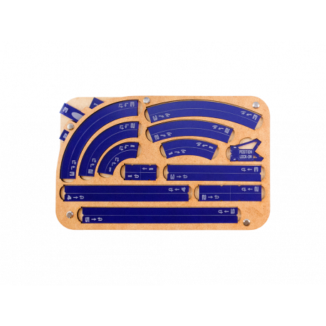 Space Fighter Manouver Tray 2.0 - Navy
