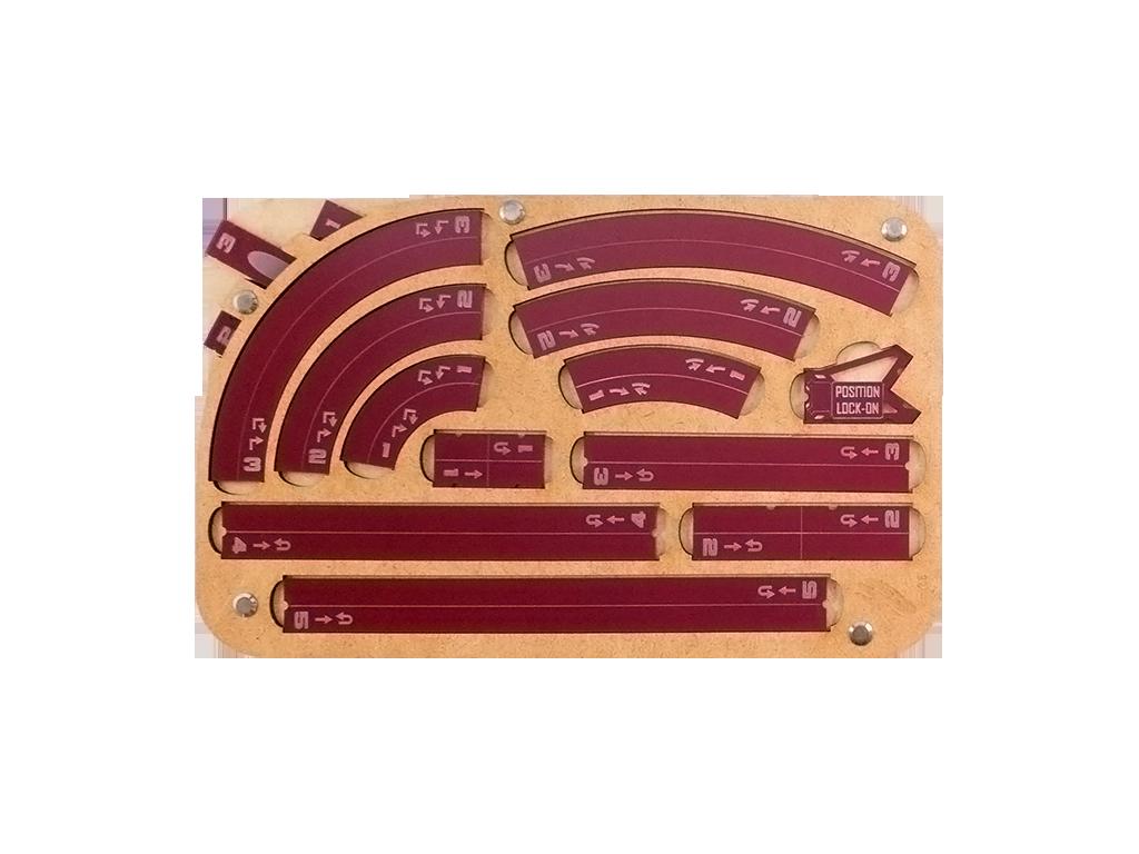 Space Fighter Manouver Tray 2.0 - Crimson