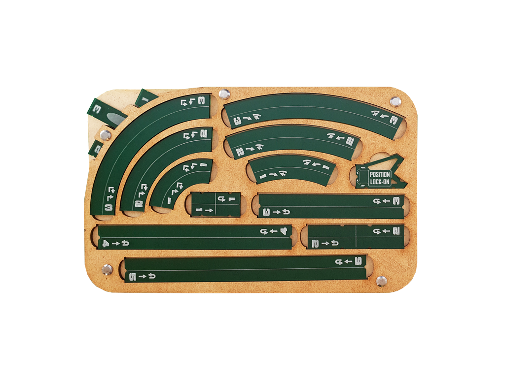 Space Fighter Manouver Tray 2.0 - Emerald