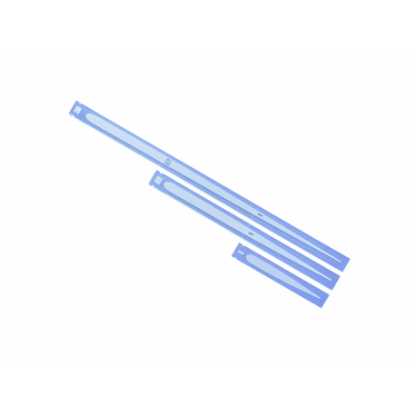 Space Fighter Range Rulers 2.0 - Light Blue