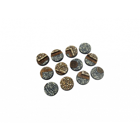 Cobblestone Base, Round 25mm (5)
