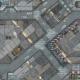 War Game Mat - 48x48inch - District 5 - PREORDER
