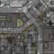 War Game Mat - 48x48inch - Warehouse - PREORDER