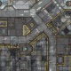 War Game Mat - 48x48inch - Warehouse - PREORDER