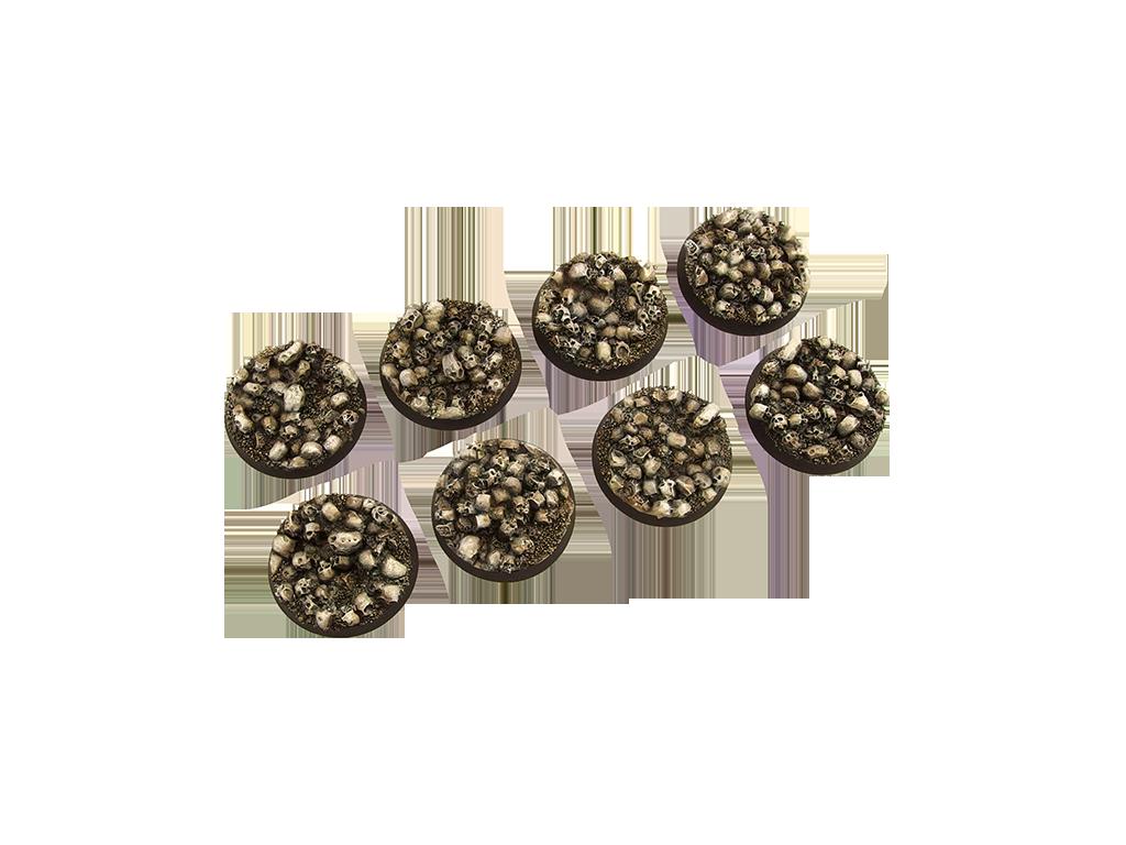 Skulls Bases, Round 32mm (4)
