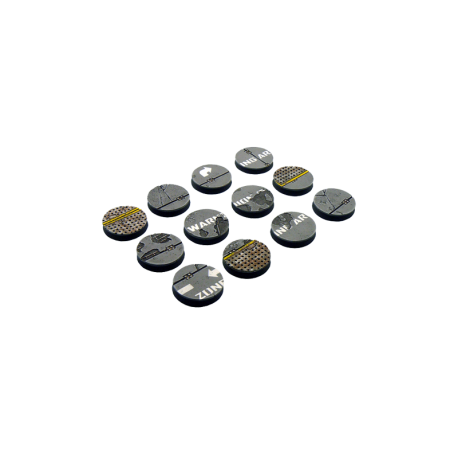 Warehouse Bases, Round 25mm (5)