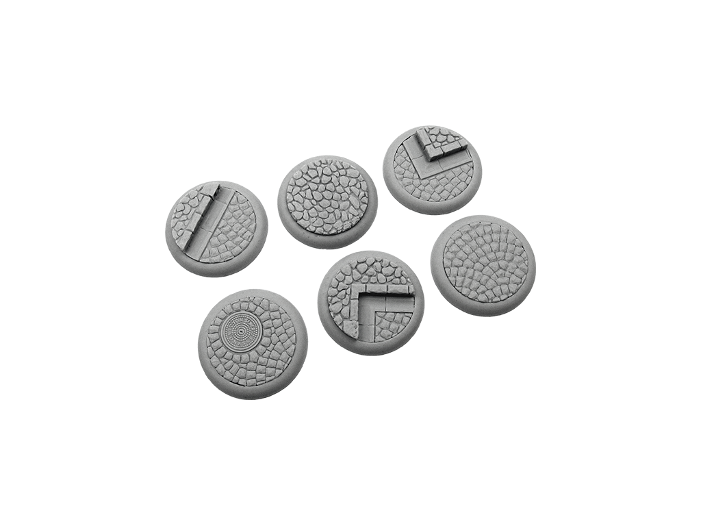 Cobblestone Bases, WRound 40mm (2)