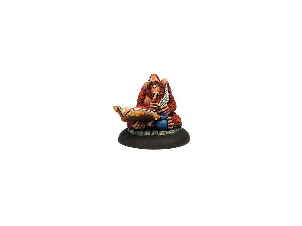 Discworld Librarian PAINTED (1) w. collectible box