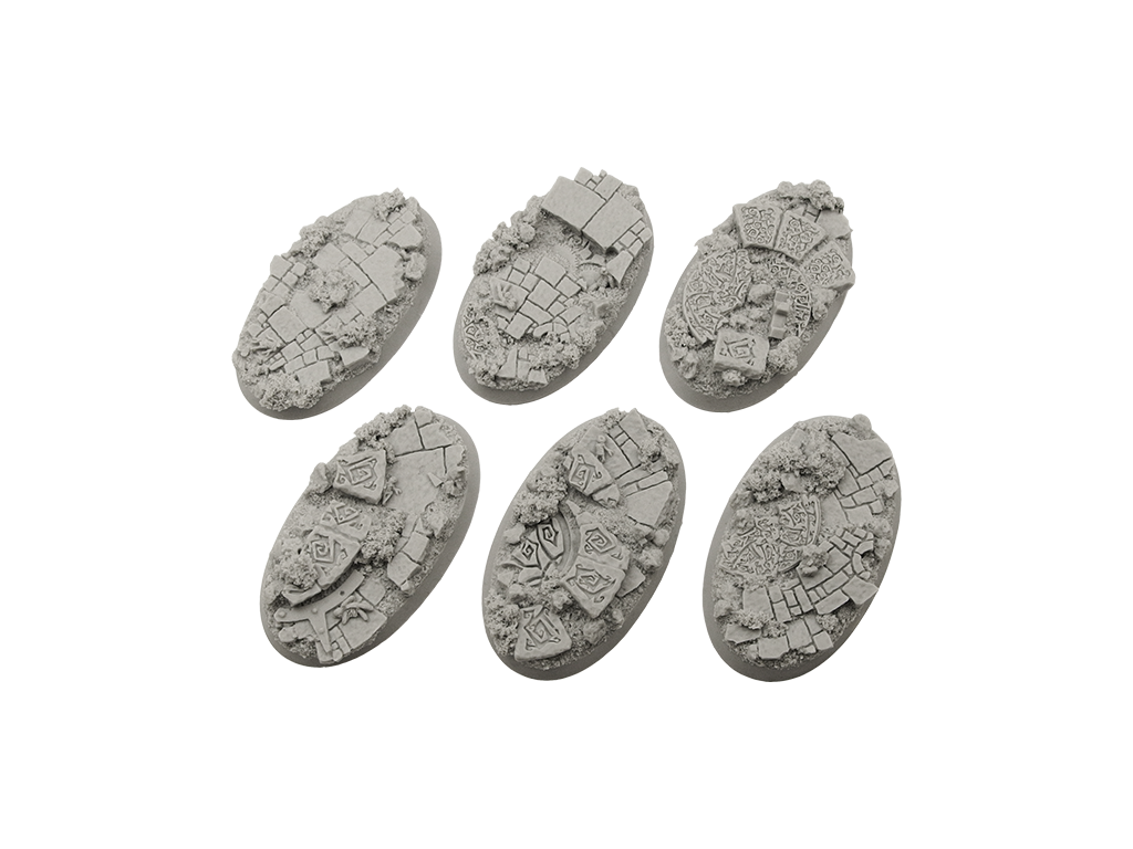 Mystic Bases, Oval 60mm (4)