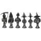 Discworld Busts Set METALLIZED (6)