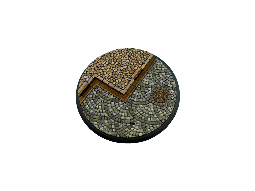 Cobblestone Bases, WRound 120mm (1)