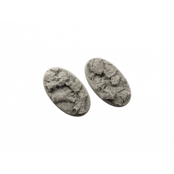 Forest Bases, Oval 90mm (2)