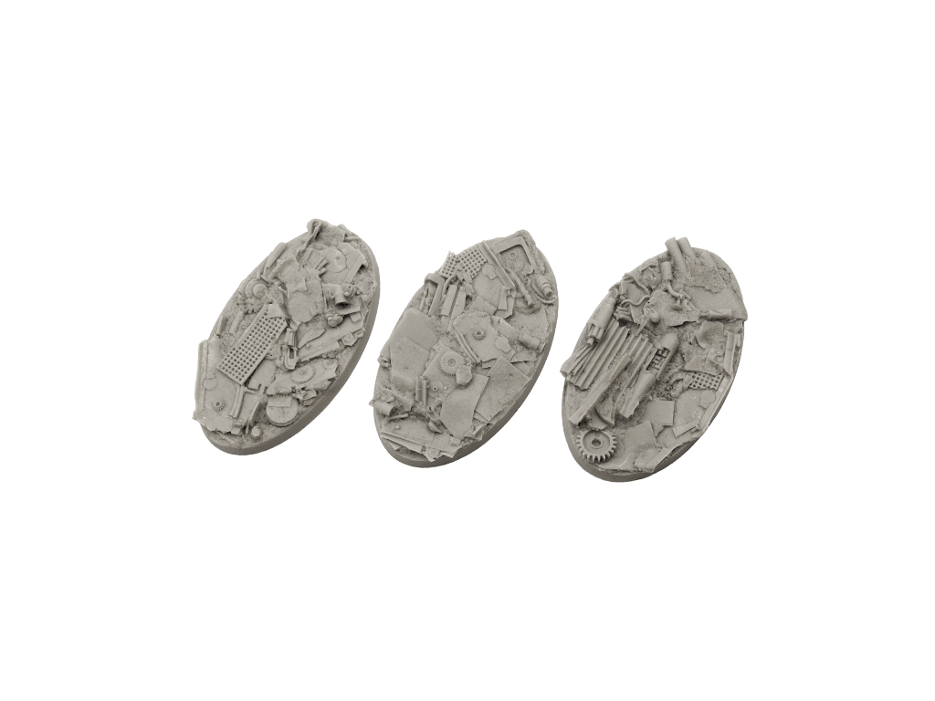 Scrapyard Bases, Oval 75mm (2)
