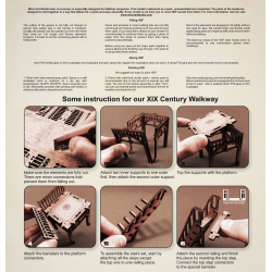 XIX Century Walkway - ASSEMBLY INSTRUCTION