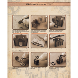 XIX Century Shantytown - ASSEMBLY INSTRUCTION