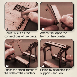 XIX Century Stands - ASSEMBLY INSTRUCTION
