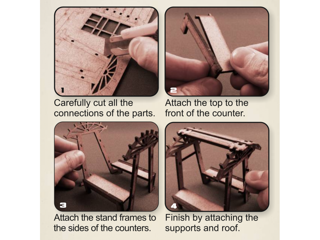XIX Century Stands ASSEMBLY INSTRUCTIONS