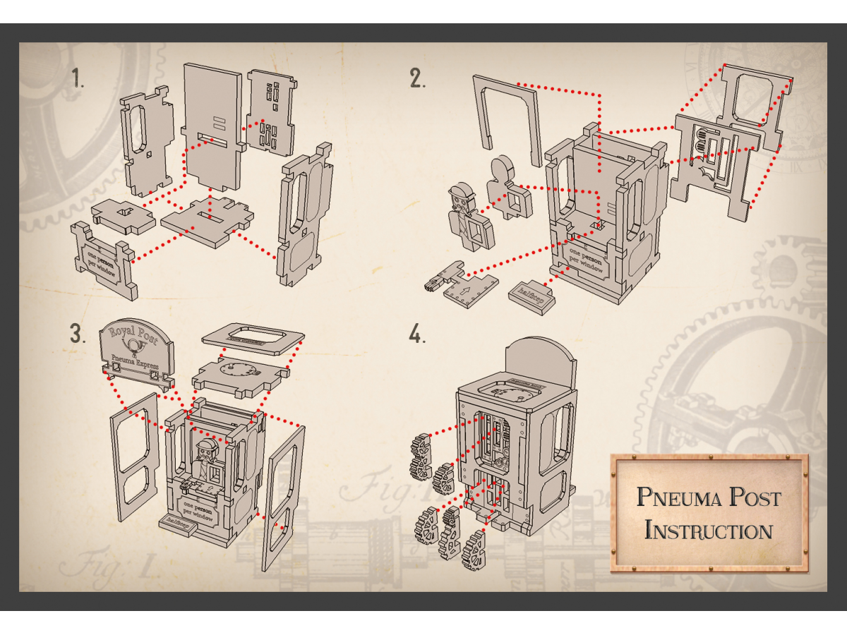 Pneuma Post - ASSEMBLY INSTRUCTION