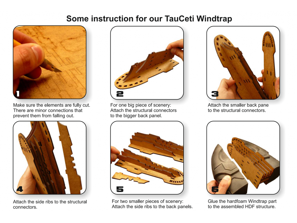 TauCeti Windtrap - ASSEMBLY INSTRUCTION