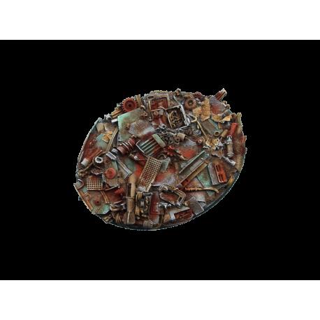 Scrapyard Bases, 120mm Ellipse (1)