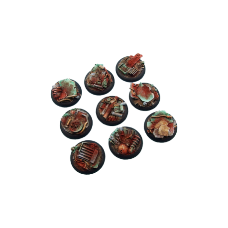 Scrapyard Bases, WRound 30mm (5)