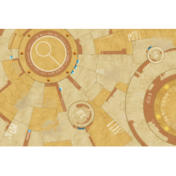 War Game Mat - 72x48inch - TauCeti