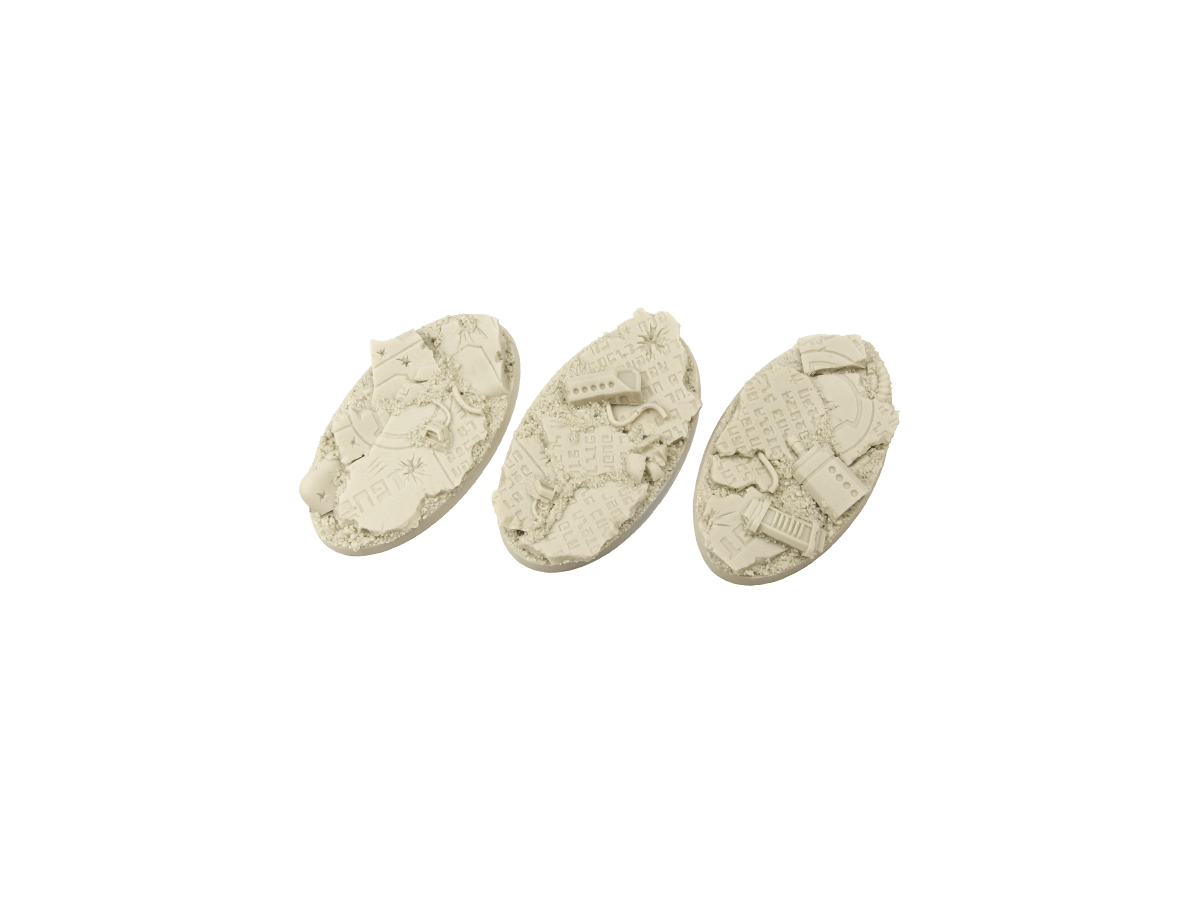 TauCeti Bases, Oval 75mm (2)