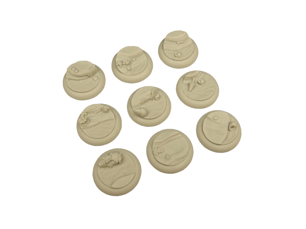Deep Water Bases, WRound 30mm (5)